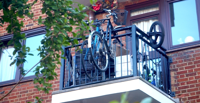 bikes on balcony Stoke Newington 416.JPG