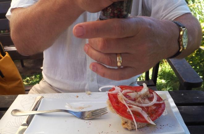 PH Ms pepper tomato salad Playa de Poo 816 .JPG