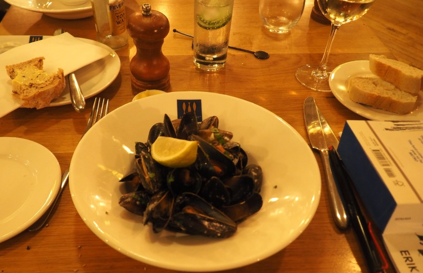 On the moules again (2): Loch Fyne, Portsmouth