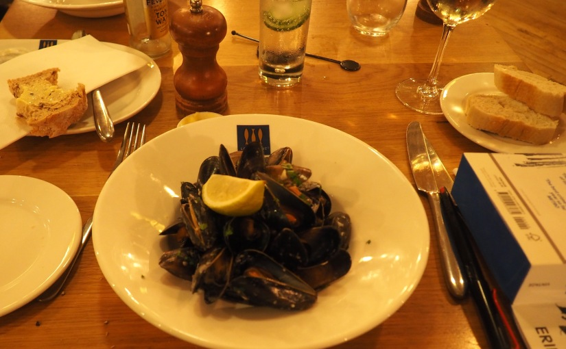 On the moules again (2): Loch Fyne,Portsmouth