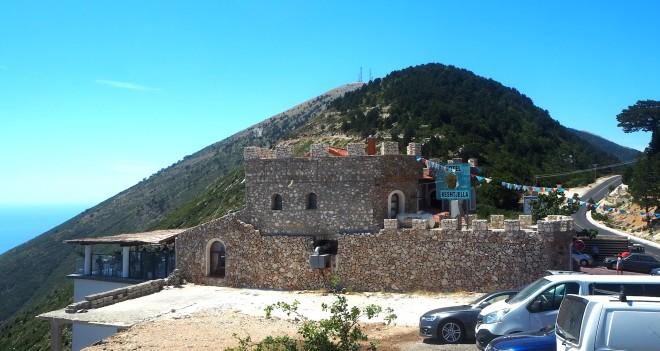 imitatation castle bar viewpoint minivan Vlorë-Sarandë 819 2.JPG