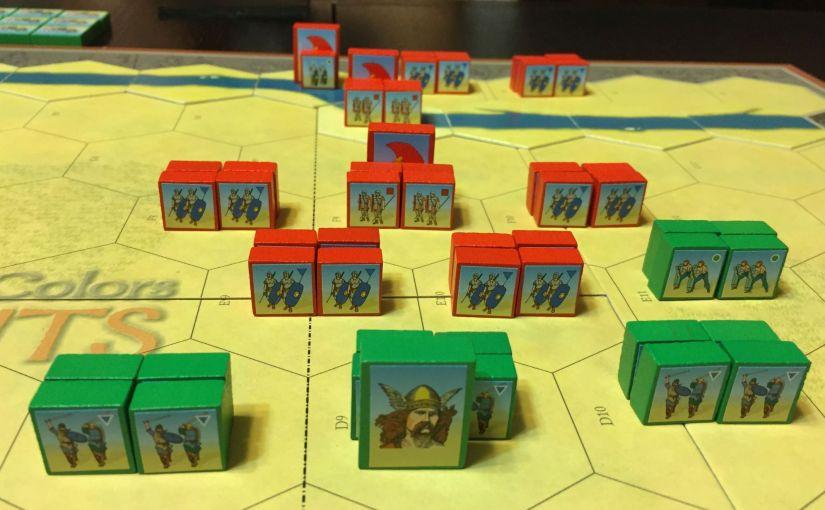 Roman conquest of Britain using C&C Ancients – Part1