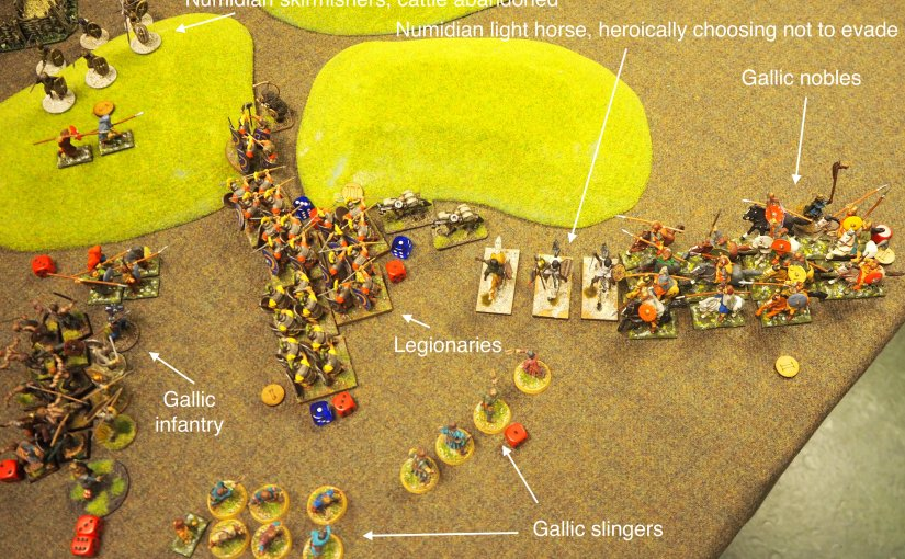 History games 23 – a skirmish on the frontier between Rome and the Aquitanian Gauls  (Infamy Infamyrules)